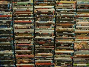 DVD Bulk Lot 6 Choose Your Title Every Disc $4.50 Assorted Titles/Genres CHEAP