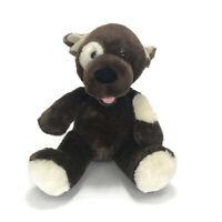 "Build A Bear Workshop Teddy Bear Brown Plush Toy 10"" Tall Soft Gift"