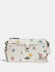 NWT COACH 1356 Noa Pop-Up Messenger With Wildflower Print