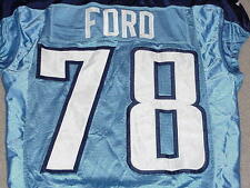 Jacob Ford Game Worn Jersey 2009 Tennessee Titans Central Arkansas