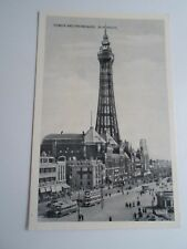 Vintage Constance Photo Reproduction PC TOWER+PROMENADE, BLACKPOOL  §A866