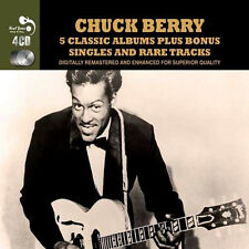 Chuck Berry FIVE (5) CLASSIC ALBUMS +SINGLES After School Session NEW 4 CD