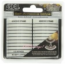 (20 STRIPS) Ardell SELF-ADHESIVE STRIPS False Eyelash Fake Lashes Glue