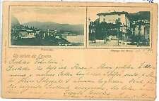 CARTOLINA d'Epoca - VARESE :  LAVENO 1899  - tipo GRUSS AUS