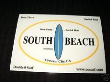 South Beach Surf Surfing Surfboard Sticker Surfed That