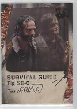 2016 Topps The Walking Dead Survival Box Guide Maggots SG-O Trust No One /10 3g2