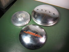 OLD USED VINTAGE CAR TRUCK PARTS HUBCAPS GROUP AS SHOWN.
