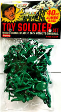 Retro Toy Soldier Green Army Men 40 piece Set GAM New in Package