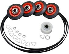 """4392067 PS373088 Dryer Kit w/ 4 Rollers Pulley & 93.5"""" Belt (661570) Quality"""