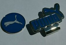 Brand New Blue and White Puma Golf Ball marker with hat clip!!