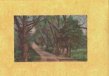 CT New Haven 1913 antique postcard EAST ROCK PARK DRIVEWAY TO ROGERS ON 5 EASTON