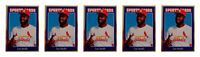 (5) 1992 Sports Cards #129 Lee Smith Baseball Card Lot St. Louis Cardinals