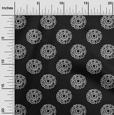 oneOone Floral Block Print Fabric By Yard - BP-1095A_1