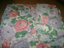 King Size Flat & Fitted Sheet...Cannon....Pink/Purple Floral