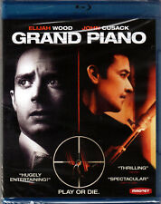 GRAND PIANO The MOVIE on a BLU-RAY Disc DVD with ELIJAH WOOD and JOHN CUSACK New