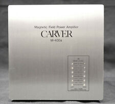 Carver M-400a Magnetic Field Power Amplifier in NICE Condition!