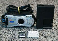 Ricoh WG-20 14.0MP HD 720p Waterproof Camera 5x W/ Extras 16GB SD Tested FR/SHP