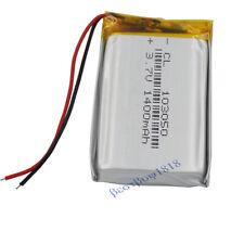 3.7v 1400mah Rechargable li battery Li-po for GPS Camera iPAQ Tablet PC 103050