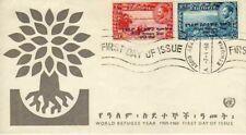 11328) ETHIOPIA FDC 7.4.1960 Refugee 2v