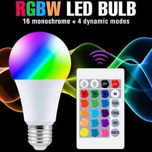 Multi Color LED Light Bulb 15W 220V Warm White RGB e27 *no shipping to PR*
