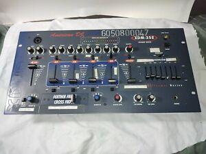 American DJ PreAmp Mixer XDM-352 Cross Feather Fader EQ Audio 4Ch rackmount