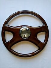 "RAPTOR 18"" FREIGHTLINER TRUCK 4-SPOKE ALL WOOD STEERING WHEEL"