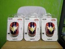 Logitech M238 Captain Marvel - Marvel Collection Wireless Mouse