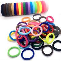 10Pcs Women Girls Hair Band Ties Rope Ring Elastic Hairband Ponytail Holder Gift