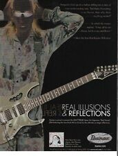2005 Print Ad Ibanez Guitars Real Illusions Steve Vai