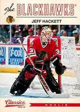 Jeff Hackett 124 2012-13 Classics Signatures
