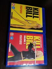 New Kill Bill Vol. 1 and 2 (Dvd, 2012, 2-Disc Set) (Pack) (Region 2) (Region B)