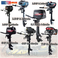 3.5 HP-7 HP 2/4 Stroke Outboard Motor Marine Boat Engine Air / Water Cooling CE