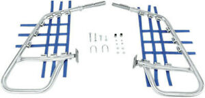 DG Performance Alloy Nerf Bars Alloy Bar Blue Web Suzuki LT500R 60-6210 D60-6210