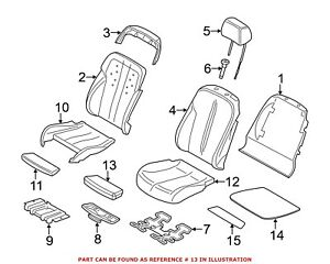For BMW Genuine Seat Cover Front 52107280585