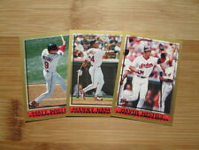 1998 Topps Baseball Cleveland Indians TEAM SET