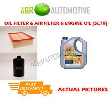 PETROL OIL AIR FILTER KIT + LL 5W30 OIL FOR AUDI A4 1.8 163 BHP 2006-09