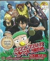 BEELZEBUB - COMPLETE ANIME TV SERIES DVD BOX SET (1-60 EPS)
