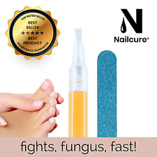 Nailcure 4in1 Anti Fungal Nail Treatment Pen. Fungus Infection Cure Fungi Toe.
