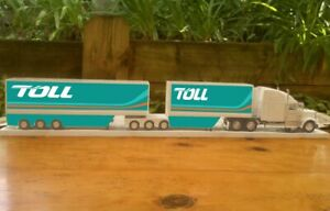 Toll Express Mack B Double Transporter delivery HUGE 1/32 900mm long Truck