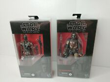 """Star Wars Black Series The Mandalorian and IG-11 6"""" Figures MINT sealed w/ DFR1"""