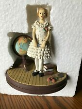Norman Rockwell Gallery The Valedictorian Sugar & Spice W/ Coa 1992 With Box