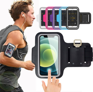 Running Armband Holder Phone Touchscreen Bag Cover For iPhone X 11 12 13 Pro Max