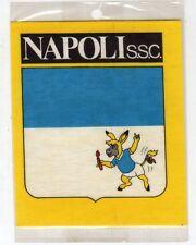 Stickers adesivo pubblicitario vintage - NAPOLI GIALLO