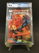 THANOS #17 CGC 9.6 SILVER SURFER HOMAGE COVER JONES VARIANT NEWLY GRADED