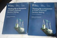 Thinking like an Economist : A Guide to Rational Decision Making (2010, CD)