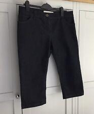 Ladies Next Cropped 3/4 Length Indigo Blue Jeans Size 16