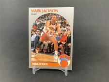 1990-91 NBA HOOPS BASKETBALL MARK JACKSON #205 MENENDEZ BROTHERS BACKGROUND