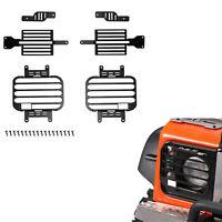 Für 1:10 Traxxas TRX4 D90 D110 Crawler Vorne + Hinten Licht Lampe Cover Metall