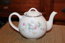 Vintage Halls USA Teapot Springtime Pattern Flowers