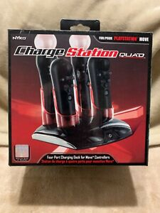 PlayStation Move Quad Port Charging Dock for PS Move/Navigation Controllers Nyko